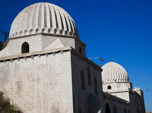 Stock Photo: 4261-88010 The domes of Zinciriye Medresesi, Mardin, Turkey, Europe