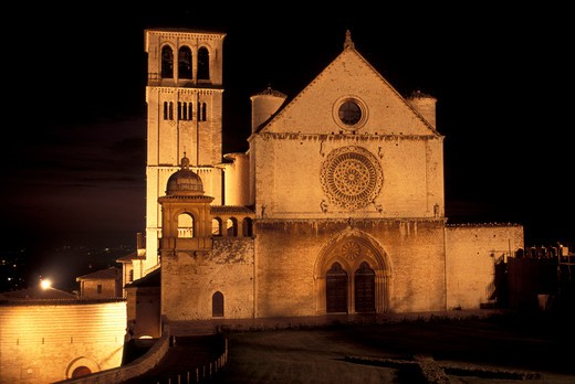 San Francesco church, Assisi, Umbria, Italy : Stock Photo