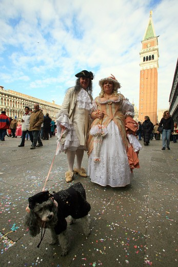 Carnival, Venice, Veneto, Italy : Stock Photo