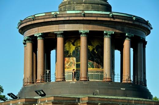 Victory Column created by Heinrich Strack, Tiergarten quarter, Berlin, Germany, Europe : Stock Photo