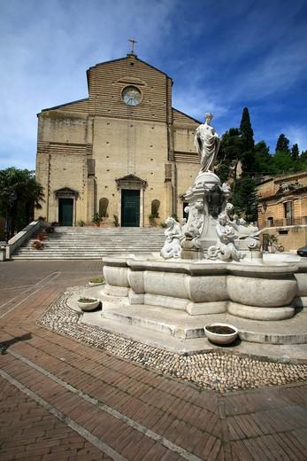 Stock Photo: 4261-91299 San Giorgio church, Porto San Giorgio, Marche, Italy