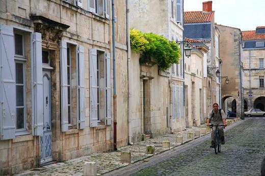 Stock Photo: 4261-91351 Foreshortening, La Rochelle, Charente-Maritime, France, Europe