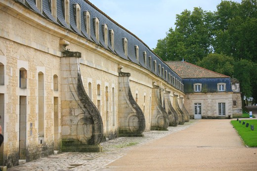 Stock Photo: 4261-91356 La Corderie Royale, Rochefort, Charente-Maritime, France, Europe