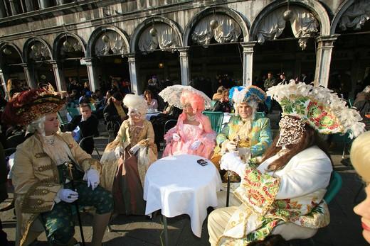Carnival 2008, Venice, Veneto, Italy : Stock Photo