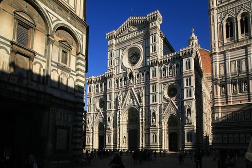 Stock Photo: 4261-91895 Santa Maria del Fiore cathedral, Florence, Tuscany, Italy