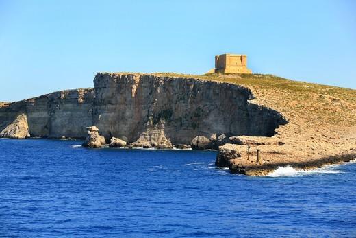 Stock Photo: 4261-92065 Comino Island, Malta republic