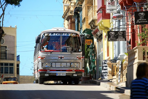 Victoria city, Gozo island, Malta Republic : Stock Photo