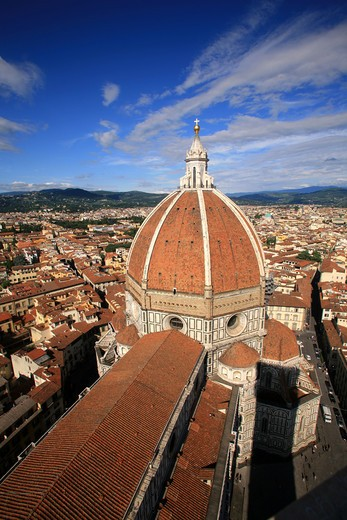 Santa Maria del Fiore cathedral, Florence, Tuscany, Italy : Stock Photo
