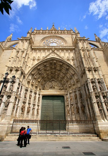 Cathedral, Sevilla, Spain, Europe : Stock Photo