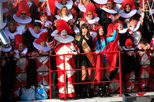 Viareggio Carnival, Viareggio, Lucca, Tuscany, Italy : Stock Photo