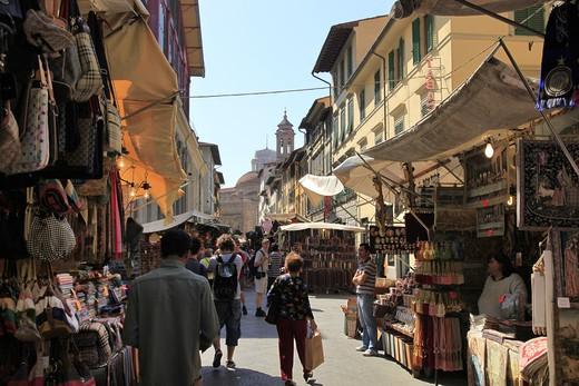 Stock Photo: 4261-92575 San Lorenzo market, Florence,Tuscany,Italy