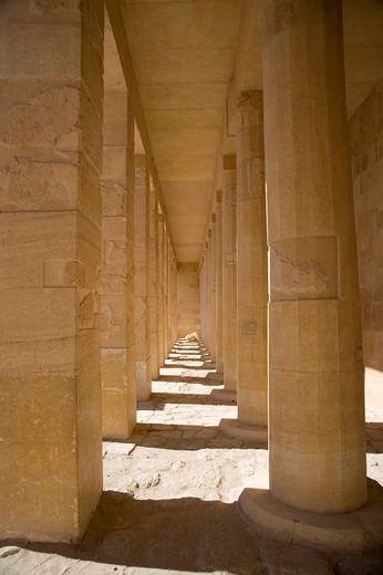 Stock Photo: 4261-93701 Hatshepsut-Temple, Luxor, Egypt, North Africa, Africa