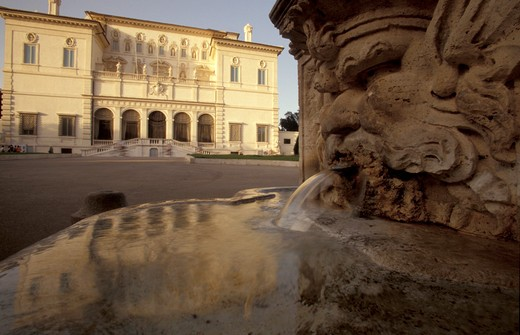 Stock Photo: 4261-94796 Villa Borghese Museum, Rome, Lazio, Italy