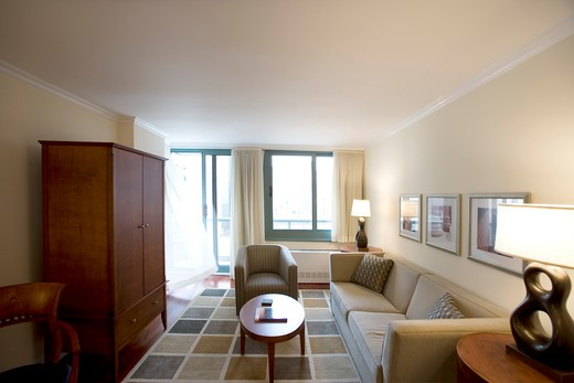 USA, New York, N.Y., Manhattan - Korman Communities, elegantly furnished apartments with four star hotel-quality services and resort-style amenities - 