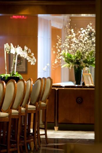 USA, New York, N.Y., Manhattan - Hotel Ritz-Carlton - 50 Central Park South - www.ritzcarlton.com : Stock Photo