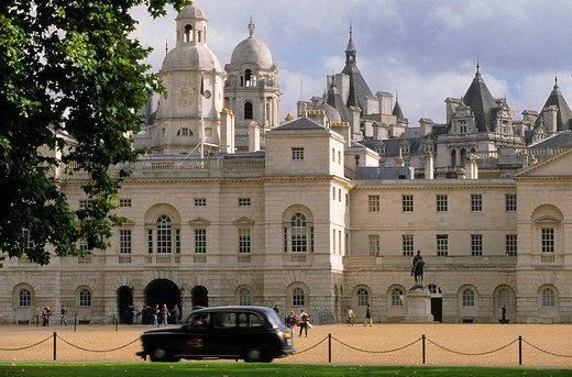Government Building in Horse Guards street, London, England, Europe : Stock Photo