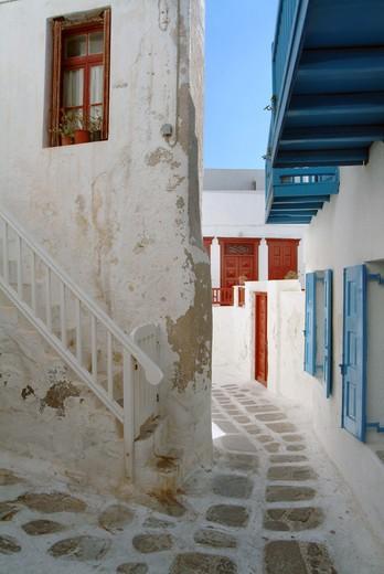 Stock Photo: 4261-97514 Mykonos Island, Cyclades Islands, Greece, Europe