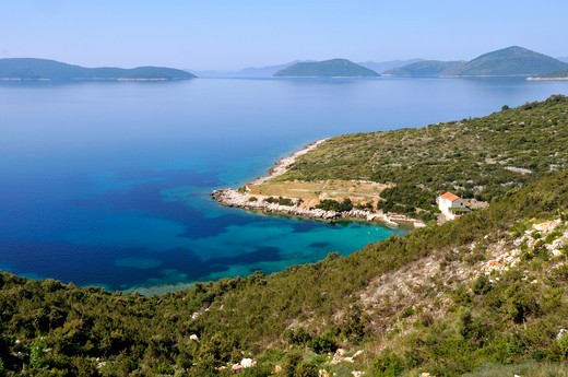 Stock Photo: 4261-9825 South Coast, Dalmatia, Croatia, Europe