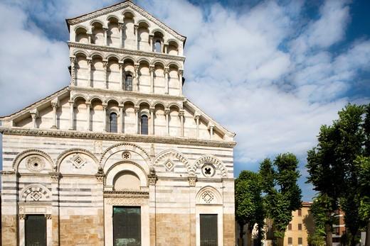 San Paolo a Ripa d'Arno Church, Pisa, Tuscany, Italy : Stock Photo