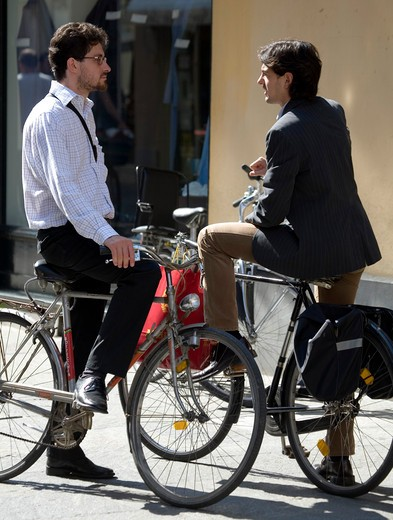 Bicycle, Parma, Emilia Romagna, Italy : Stock Photo