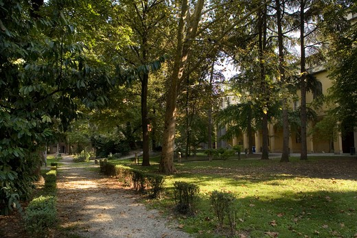 Foreshortening, Parma, Emilia Romagna, Italy : Stock Photo