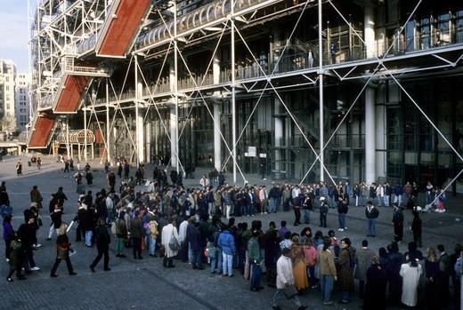 Stock Photo: 4261-99753 Centre Pompidou, Paris, France, Europe