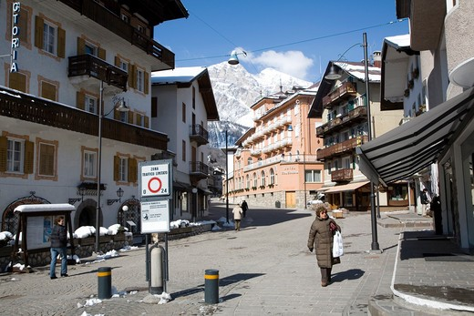 Stock Photo: 4261-99945 Cortina d'Ampezzo, Dolomiti chain, Veneto, Italy