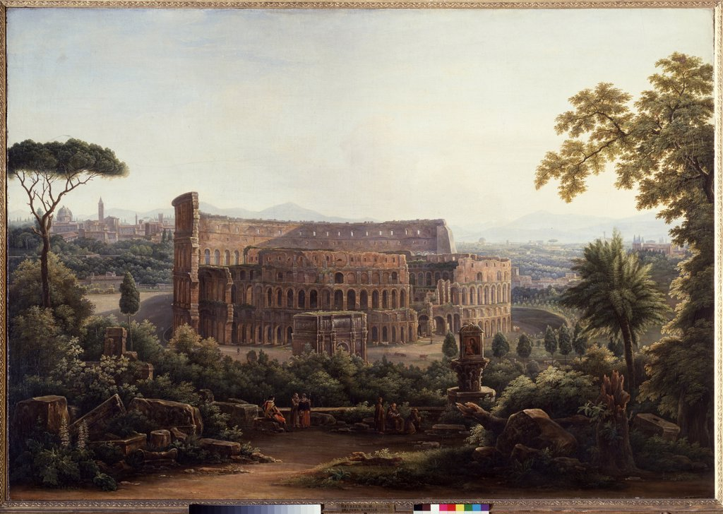 Coliseum by unknown painter, Russia, Moscow, State Tretyakov Gallery, 107, 2x154, 5 : Stock Photo