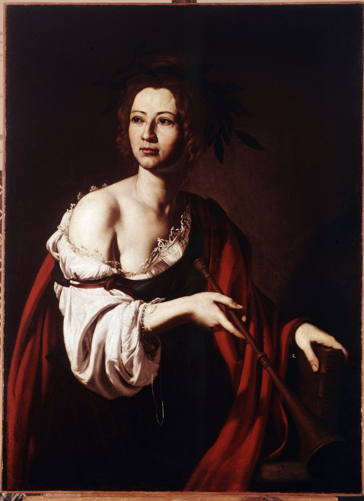 Stock Photo: 4266-11264 Portrait of woman in red cloak by Jose de Ribera, oil on canvas, 1615-1620, 1591-1652, Russia, St Petersburg, State Hermitage, 113x81