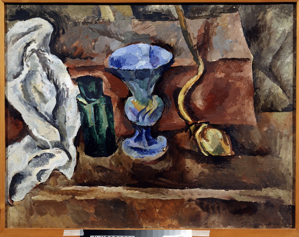 Stock Photo: 4266-12789 Konchalovsky, Pyotr Petrovich (1876-1956) State Art Museum, Nizhny Novgorod 1917 72,6x93,3 Oil on canvas Expressionism Russia