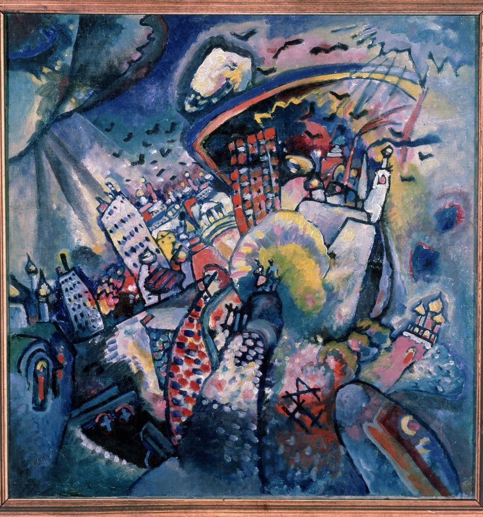 Stock Photo: 4266-12894 Kandinsky, Wassily Vasilyevich (1866-1944) State Tretyakov Gallery, Moscow 1916 51,5x49,5 Oil on canvas Abstract Art Russia