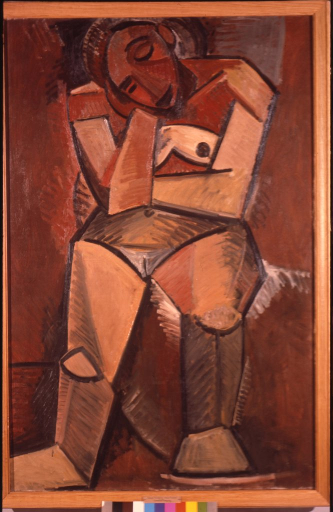 Stock Photo: 4266-13368 Picasso, Pablo (1881-1973) State Hermitage, St. Petersburg 1908 150x99 Oil on canvas Cubism Spain Nude