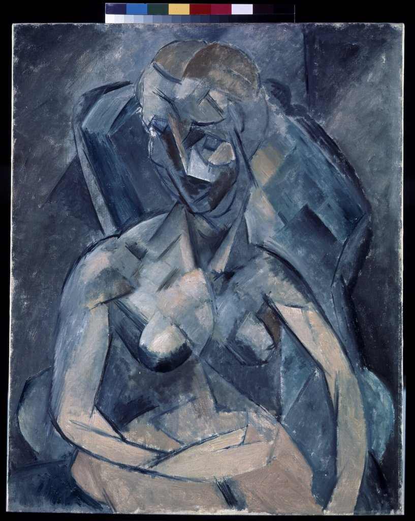 Stock Photo: 4266-13407 Picasso, Pablo (1881-1973) State Hermitage, St. Petersburg 1909 92,3x73,3 Oil on canvas Cubism Spain Nude
