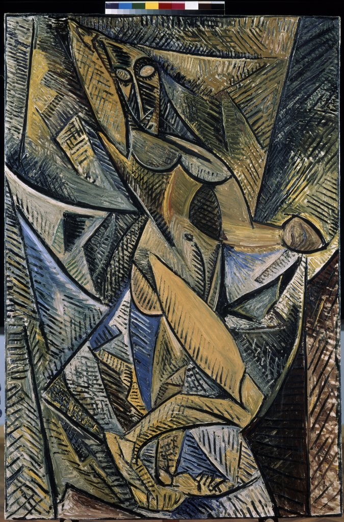 Stock Photo: 4266-14225 Picasso, Pablo (1881-1973) State Hermitage, St. Petersburg 1907 150x100 Oil on canvas Modern Spain