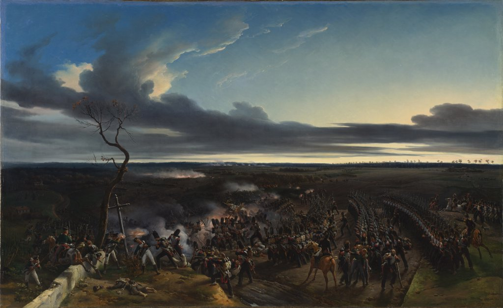 Stock Photo: 4266-15154 Vernet, Horace (1789-1863) National Gallery, London Painting 178,4x290 History  The Battle of Montmirail