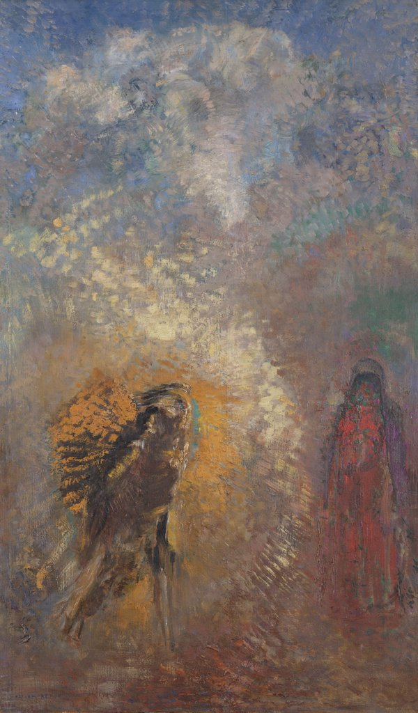 Redon, Odilon (1840-1916) © Museum of Modern Art, New York Painting 67x40 Bible,Mythology, Allegory and Literature  Apparition : Stock Photo