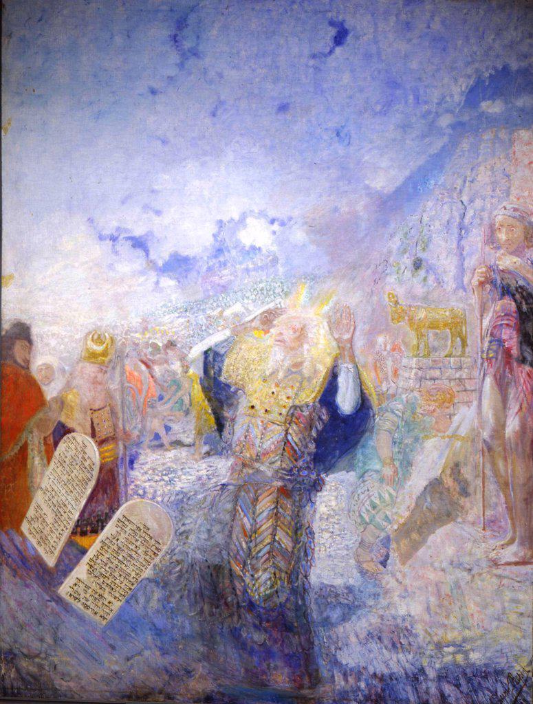 Stock Photo: 4266-1565 Repin, Yury Ilyich (1877-1954) I. Repin Memorial Museum Penates near Sankt Petersburg 1930s 323x240 Oil on canvas Modern Russia Bible
