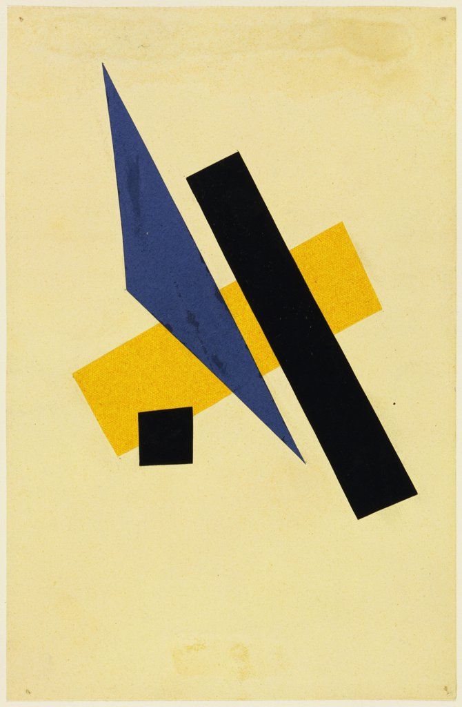 Stock Photo: 4266-15997 Popova, Lyubov Sergeyevna (1889-1924) © Museum of Modern Art, New York Graphic arts 23,9x15,6 Abstract Art  Untitled