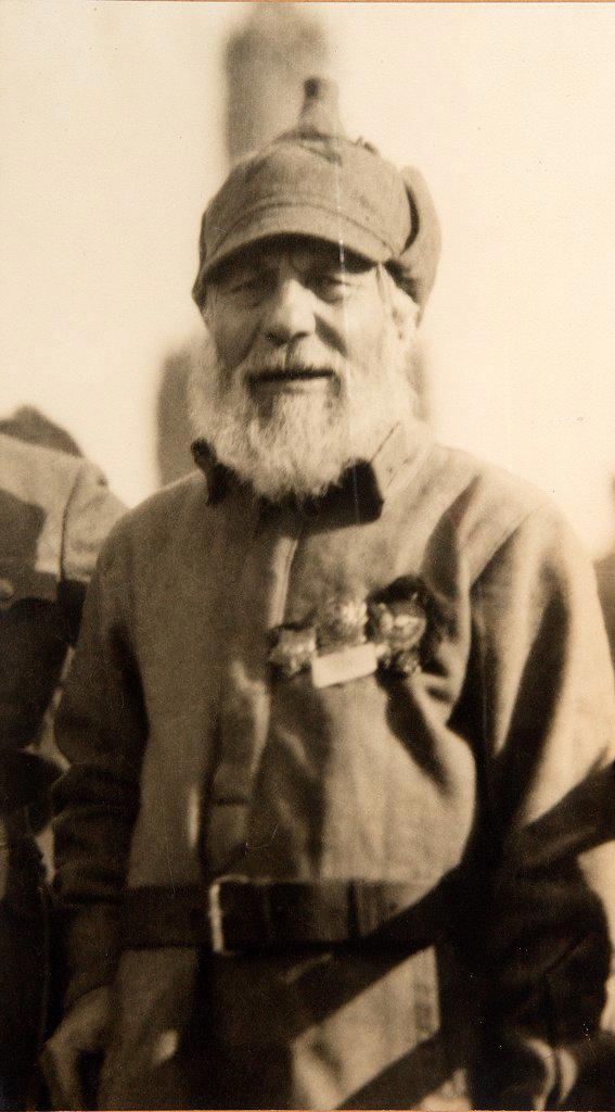 Stock Photo: 4266-17159 Civil War Siberian Partisan Ivan Gulyaev by Otsup, Pyotr Adolfovich (1883-1963)/Russian State Film and Photo Archive, Krasnogorsk/1925/Phototypie/Russia/Portrait