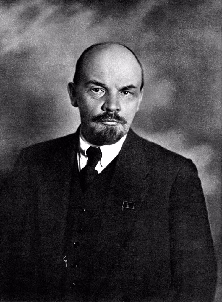 Vladimir Lenin. April 23, 1920 by Anonymous  /State Museum of History, Moscow/1920/Photograph/Russia/History : Stock Photo