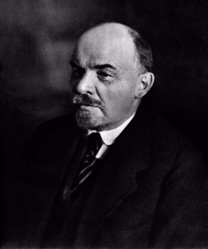 Vladimir Lenin. Moscow, October 4, 1922 by Anonymous  /State Museum of History, Moscow/1922/Photograph/Russia/History : Stock Photo