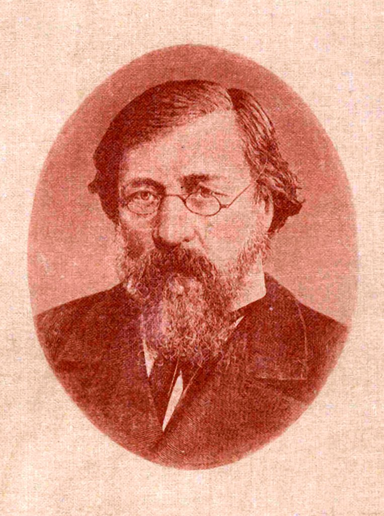 Nikolay Gavrilovich Chernyshevsky (1828_1889) by Anonymous  /Russian State Archive of Literature and Art, Moscow/Photoengraving/Russia/Portrait : Stock Photo