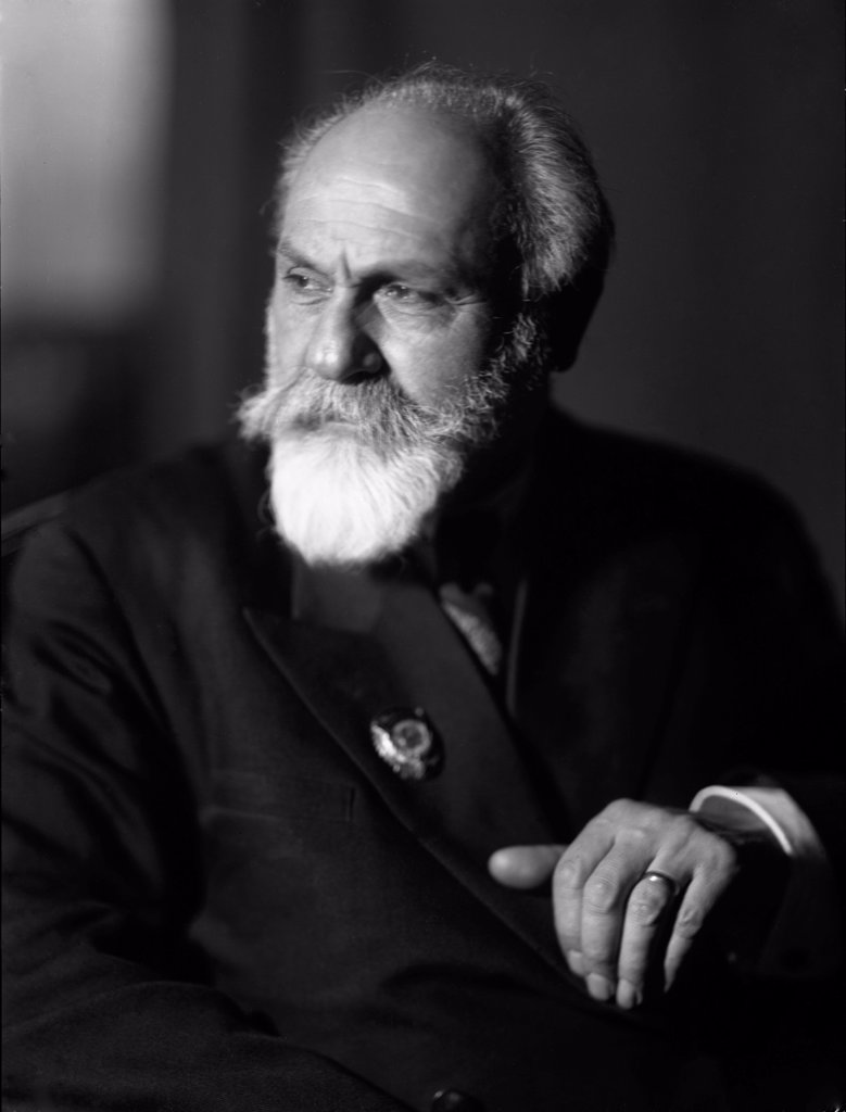 Stock Photo: 4266-17512 Levon Abgarovich Orbeli (1882-1958) by Anonymous  /Russian Academy of Sciences/Photograph/Russia/Portrait