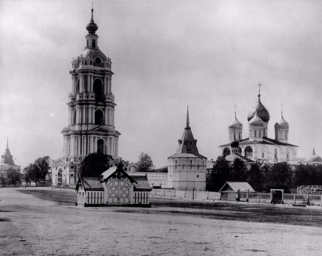 Stock Photo: 4266-18373 The New Saviour Monastery in Moscow by Scherer, Nabholz & Co.  /Russian State Film and Photo Archive, Krasnogorsk/1882/Albumin Photo/Russia/Architecture, Interior