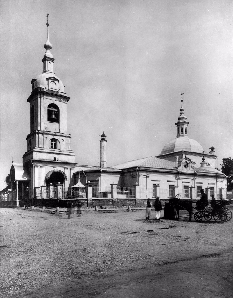 Stock Photo: 4266-18432 The Church of the Forty Martyrs of Sebaste in Moscow by Scherer, Nabholz & Co.  /Russian State Film and Photo Archive, Krasnogorsk/1882/Albumin Photo/Russia/Architecture, Interior