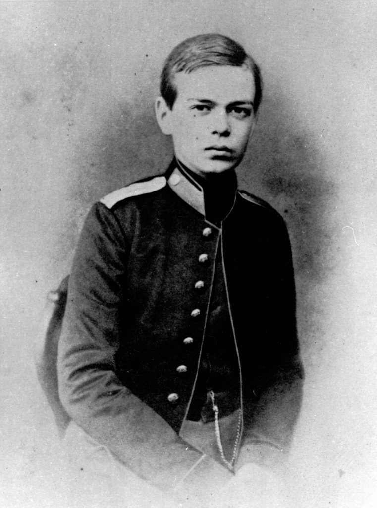 Portrait of Grand Duke Alexander Alexandrovitch of Russia (1845-1894) by Russian Photographer  /Russian State Film and Photo Archive, Krasnogorsk/1859-1861/Albumin Photo/Russia/Tsar's Family. House of Romanov : Stock Photo