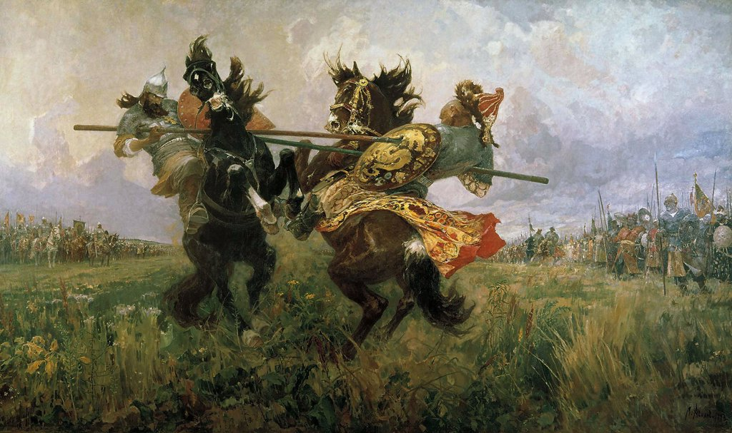 Stock Photo: 4266-2791 Avilov, Mikhail Ivanovich (1882-1954) State Russian Museum, St. Petersburg 1943 327x577 Oil on canvas Modern Russia History