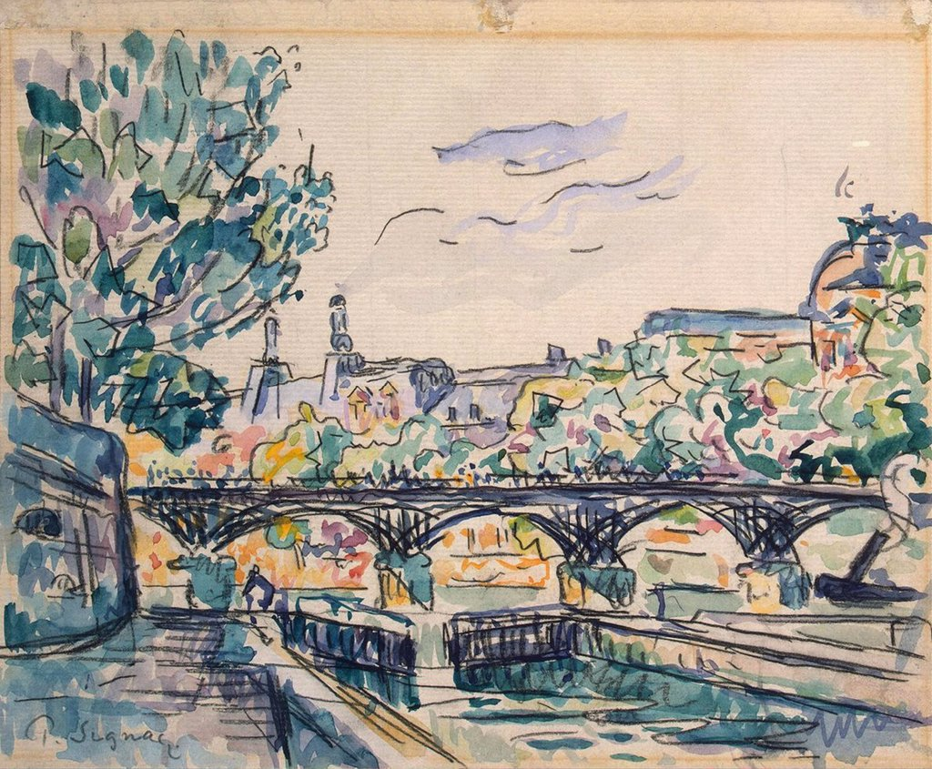 Stock Photo: 4266-3257 Signac, Paul (1863-1935) State Hermitage, St. Petersburg Early 20th cen. 21,2x26 Watercolour, Gouache, white colour, ink on paper Postimpressionism France