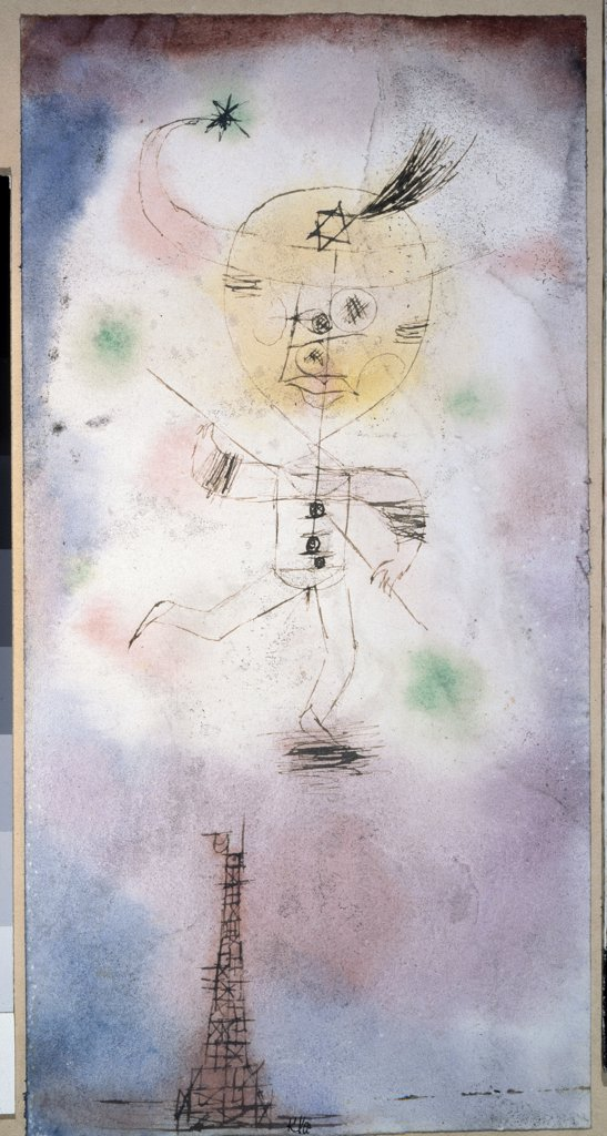 Stock Photo: 4266-4038 Klee, Paul (1879-1940) State A. Pushkin Museum of Fine Arts, Moscow 1918 20,8x10,6 Watercolour and ink on paper Modern Germany