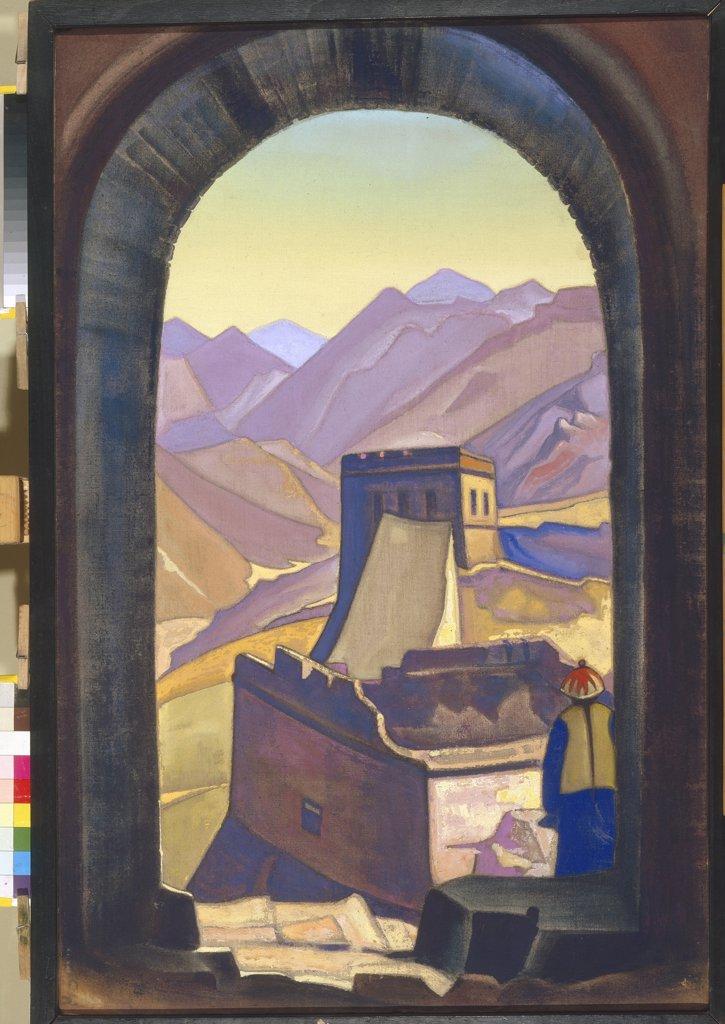 Stock Photo: 4266-4222 Roerich, Nicholas (1874-1947) State Oriental Art Museum, Moscow 1936 91x60.5 Tempera on canvas Symbolism Russia